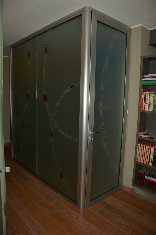 Centro serramenti milani serramenti malnate porte interne - Chiusura vano scala interno ...