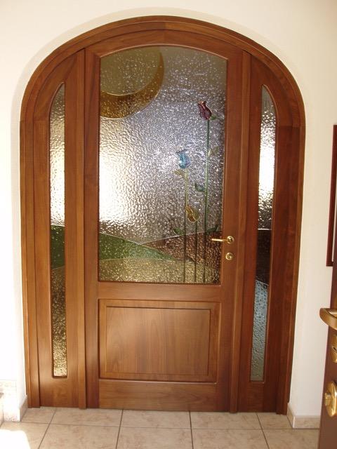 Centro serramenti milani serramenti malnate porte interne - Porte in legno con vetro decorato ...